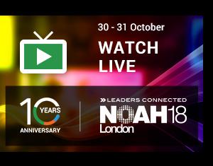 NOAH18 London Live Stream and Blog