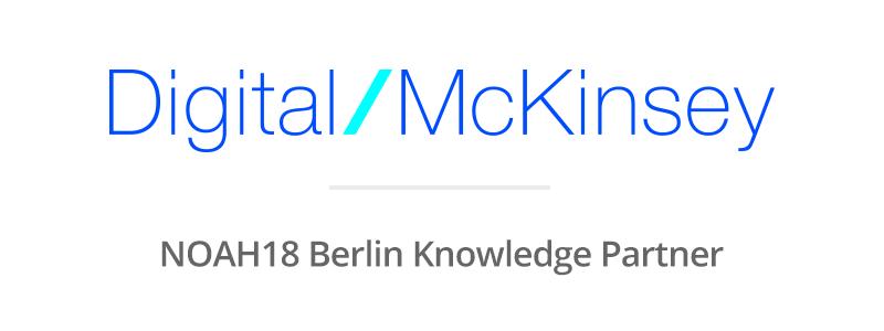 Digital McKinsey   NOAH Conference - Tel Aviv, Berlin, London and Zurich
