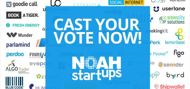 NOAH Startups – Berlin Voting Open