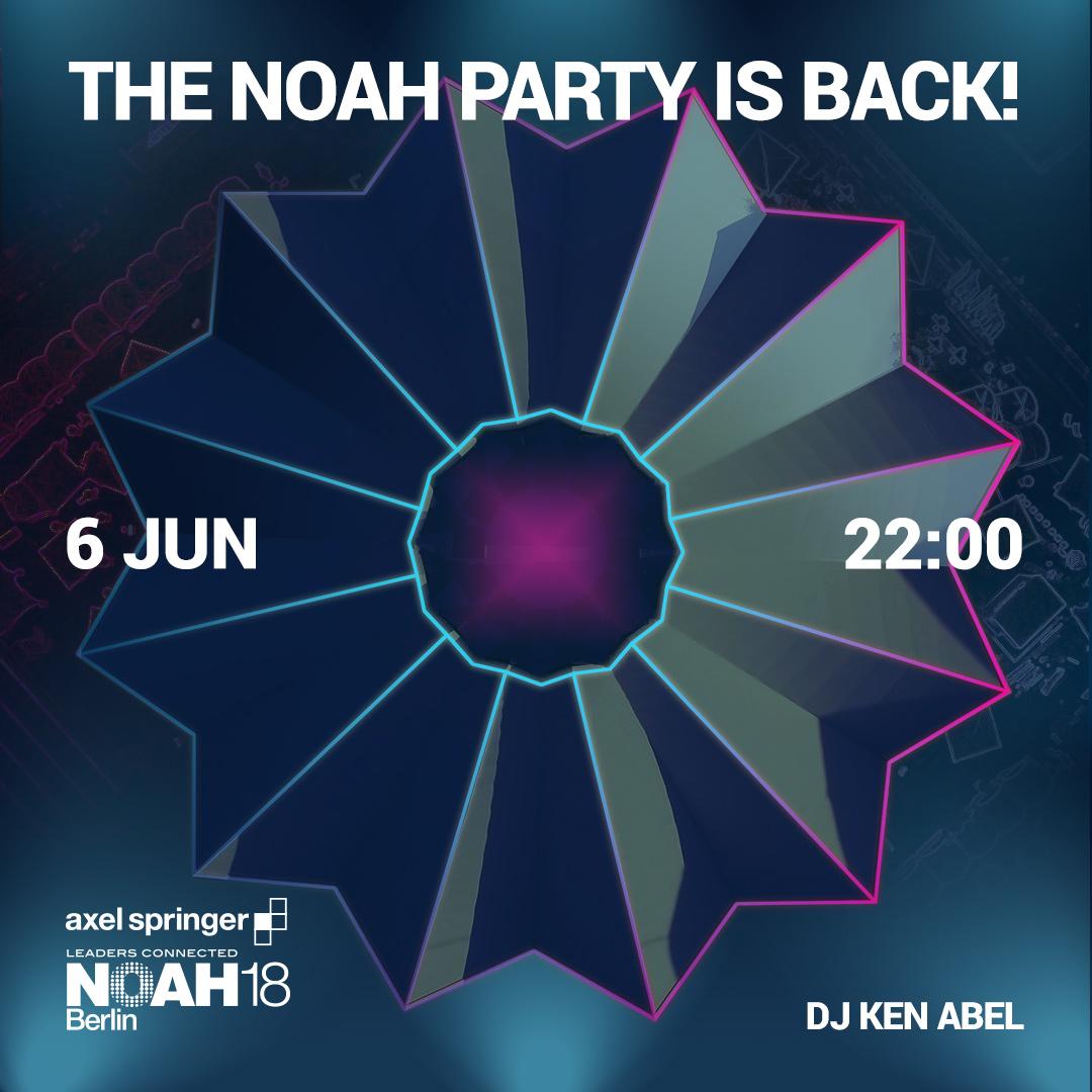 NOAH18 Berlin Party