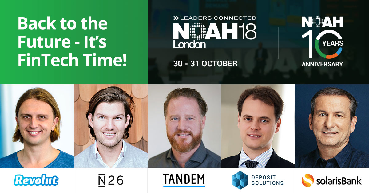 Back to the Future – It's Fintech Time – N18 London Highlight