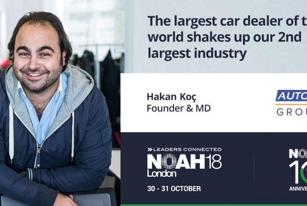 NOAh18 London Highlights Hakan Koc AUTO1 Group