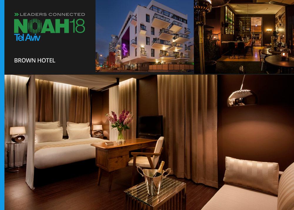NOAH18 Tel Aviv - Accomodation - Brown Hotel
