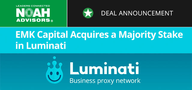 EMK Capital Acquires a Majority Stake in Luminati