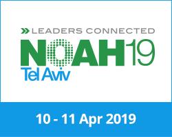 NOAH19 Tel Aviv Conference 10-11 April