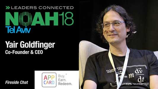 NOAH18 Tel Aviv AppCard - Yair Goldfinger