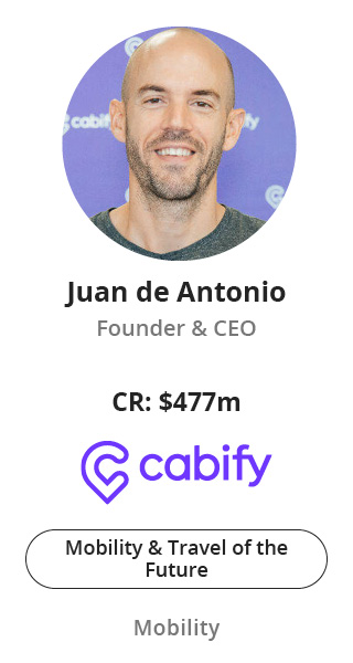Juan de Antonio, Founder and CEO of Cabify speaking at NOAH Conference Berlin 2020