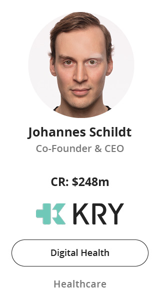 Johannes Schildt, Co-Founder & CEO of KRY speaking at NOAH Conference Berlin 2020