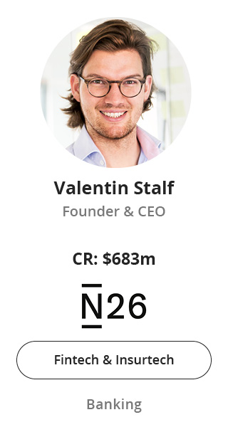 Valentin Stalf, Founder & CEO of N26 speaking at NOAH Conference Berlin 2020