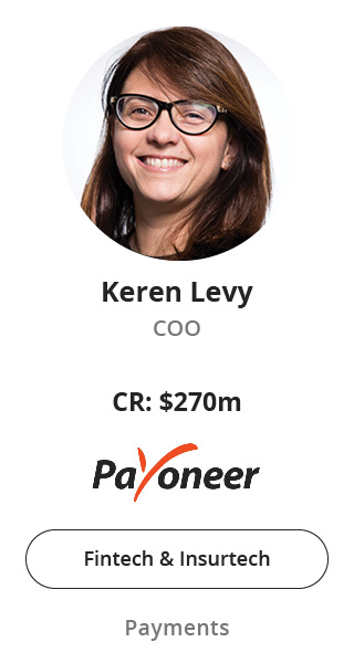 Keren Levy, COO of Payoneer speaking at NOAH Conference Berlin 2020