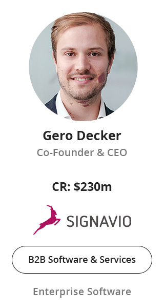Gero Decker, Co-Founder & CEO of Signavio speaking at NOAH Conference Berlin 2020
