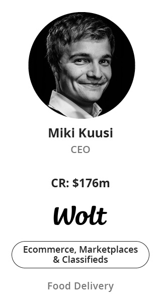 Miki Kuusi, CEO of Wolt speaking at NOAH Conference Berlin 2020