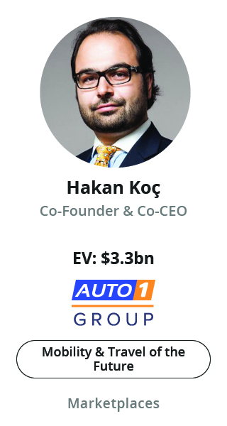 Hakan Koc, Co-Founder & Co-CEO of Auto1 Group speaking at NOAH Conference Berlin 2020