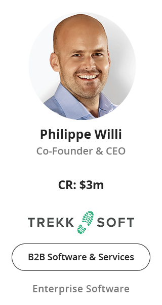 Philippe Willi, Co-Founder & CEO of TrekkSoft speaking at NOAH Conference Zurich 2020