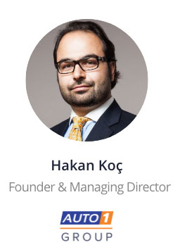 Hakan Koc, Founder and Managing Director of Auto1 Group speaking at the NOAH Conference Berlin 2020