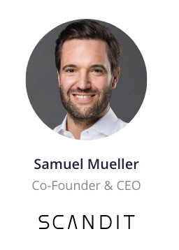 Samuel Mueller, Co-Founder & CEO of SCANDIT speaking at the NOAH Conference Zurich 2020