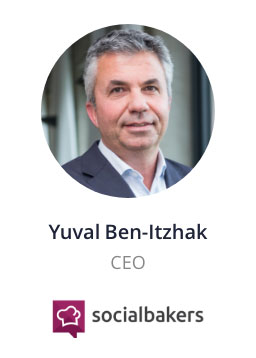 Yuval Ben-Itzhak, CEO of socialbakers speaking at the NOAH Conference Berlin 2020