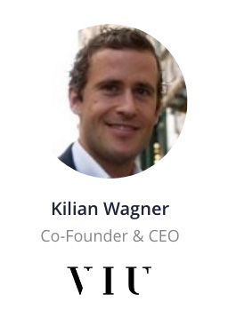 Kilian Wagner, CEO of VIU speaking at the NOAH Conference Zurich 2020