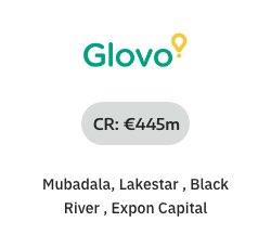 NOAH Startups - Glovo